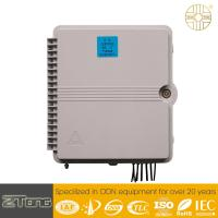 China Straight  Through Fiber Optic Distribution Box With Adapter / Splitter / Pigtail wholesale