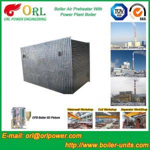 China 100 T Boiler Part Tubular Air Preheater / APH In Boiler Natural Circulation wholesale