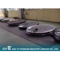 China ASTM B265 CNC Titanium Metal Sheets For Tube Type Heat Exchanger wholesale