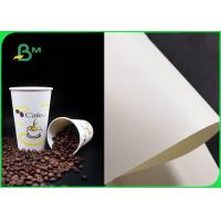 Quality Heat Resistance 260gsm + 26g PLA Coated Paper For Beverage Cups Food Safety for sale