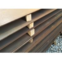 China SS400 ASTM A36 A572 ST37 ST52 Mild Steel Plate / Low Alloy Steel Plate wholesale