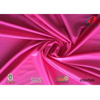 China Fengcai fabrics textiles Upf 50 polyester spandex fabric for sportswear wholesale