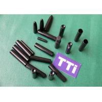 China Black Custom Injection Molds Parts ABS + PC Industrial Tubes wholesale