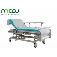 China Multifunction Hospital Examination Bed 605-805mm Height With Protective Guardrail wholesale