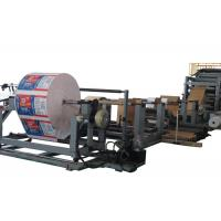China Automatic Computer Control Paper Tube Making Machine With Press Roller and Rotary Feeder wholesale