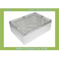 China 320*240*110mm Clear Plastic Enclosures For Electronics wholesale