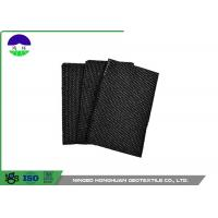 China Water Permeability Woven Monofilament Geotextile , Synthetic Fiber PP Woven Geotextile wholesale