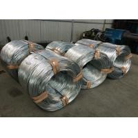 China Q195 Hot Dipped Galvanized Wire For Fence / Mesh , Bright Silver wholesale