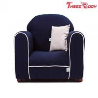 China Contemporary Toddler Upholstered Chair , Kids Bedroom Furniture Child Lounge Chair wholesale