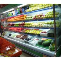 China Supermarket Open Chiller/upright Commercial Refrigerator For Fruit  wholesale