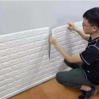 China Modern design washable mural 3d brick mural stone wall paper for living room hotel wholesale