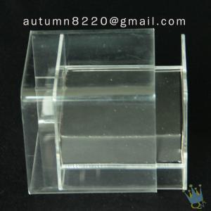 China BO (12) acrylic tissue box wholesale