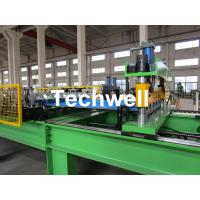 China High Speed Steel Roofing Sheet Roof Roll Forming Machine with Flying Cutting wholesale