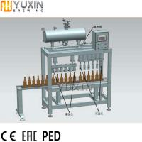 Buy cheap Stainless Steel Small beer Bottle Filling and Capping Machine from wholesalers