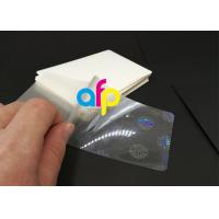China Hologram Laminating Pouches Matte Finish / Glossy wholesale