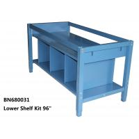China Lower Shelf Kit For Divider The Space Under The Industrial Work Table 96 Inch Wide wholesale