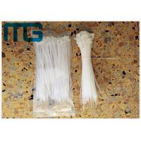 China Multi Sizes Nylon 66 UV Resistant Nylon Cable Ties , Colored Plastic Ties For Cables on sale