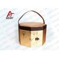 China Art Paper Custom Hexagon Gift Box , Corrugated Cardboard Boxes With Lids wholesale