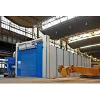 China Safety Shot Blasting Room Automatic Recycling System For Engineering Machinery wholesale