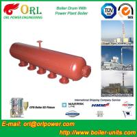 China Hot Water Boiler Drum For Power Station , Dryer Drum High Heating Efficiency wholesale