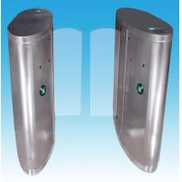 Quality 304 stainless steel optical turnstiles indoor / outdoor with RS485 communication interface for sale