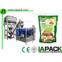 China Seasoning Powder Packaging Machine , Auger Type Powder Filling Machine on sale