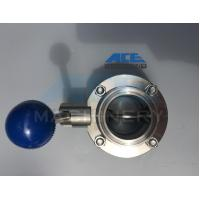 Quality Stainless Steel Manual Threaded Butterfly Valve (ACE-DF-2C) for sale
