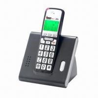 China DECT 2.4GHz (900Mhz/1.8GHz) cordless phone with caller ID, maximum 4 handsets wholesale