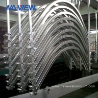 China China Manufacturers Superior Customized Low Price Curved Aluminum Extrusions Profile wholesale