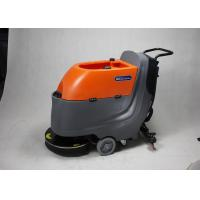 China Modern Walk Behind Floor Scrubber Supermarket / Factory Cleaning Equipment wholesale