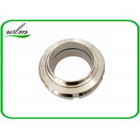 China Hygienic Threaded Pipe Union Couplings / Quick Release Hose Couplings BS4825-4 IDF ISS wholesale