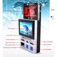 Buy cheap Dual Screen Wall –Mounted Lottery Kisok With Card Reader And PCI EPP from wholesalers