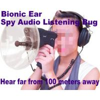 China Bionic Ear Remote Sound Recorder 100 meters headphone Spy Audio Listening Amplifier Bug wholesale