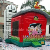 China Little Red Barn Inflatable bounce houseFor Outdoor Amusement Park 21 x 17 x 18′ wholesale