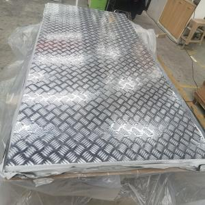 China 5052 H36 Aluminum Checkered Plate 2mm Thick Aluminum Checker Plate Sheet 3mm wholesale