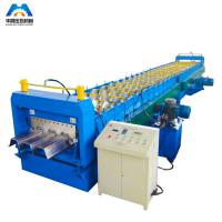 China Steel Floor Decking Sheet Roll Forming Machine / Roll Former wholesale