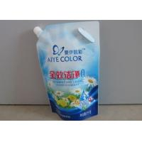 China Professional Plastic Liquid Spout Bags Biodegradable For Food Packaging wholesale