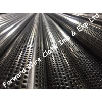 China SS304 Stainless Steel Perforated Tube Customized Round Hole Diameter 76.2mm wholesale