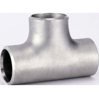 China Butt Weld Pipe Fitting Equal Tee/Pipe Fittings ASME B16.9 SS 321 304 316 A403 WP304 316 Seamless Butt welding SCH10 40 wholesale