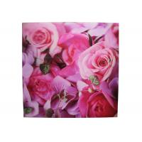 China Frameless 3D Pictures Lenticular Printing Services 40x40cm PET Printing wholesale