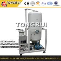 Buy cheap Portable Used Hydraulic Oil Recycling and Regeneration Machine to change color to clean product