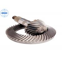 China 15º Pressure Angle Truck Crown Wheel Gear with Blackened & Nickel Plating wholesale