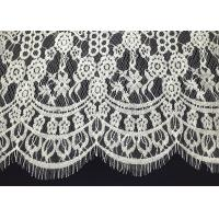 "Buy cheap Double Scalloped Eyelash Antique Lace Trim With 60"" Width Elizabethan Revival from wholesalers"