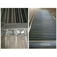China Decorated Top Steel Sliding Automatic Driveway Gates Security For Community wholesale