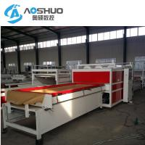 China Pvc Film Vacuum Membrane Press Machine Full Automation Double Seat 8kw wholesale