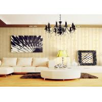 China Romantic Individuality Natural Plant Fibers Victorian Damask Wallpaper For Sofa Background wholesale