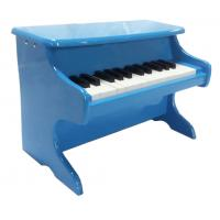 Quality Blue Baby Toy Wooden Piano , School Childrens Wooden Piano for sale