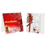 Quality 3D Birthday Lenticular Photo Printing PET / PP Plastic Material Custom Greeting Cards for sale