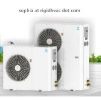 China 3HP R22 Copeland Rotary Condenser unit  HVAC/ refrigeration unit/air cooled condenser/walk in cooler/heating and cooling on sale