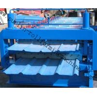 China Steel Cold Double Layer Roll Forming Machine for Roof Tile , Metal Sheet , Wall Panel wholesale